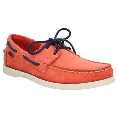 fad7435a665 Chaussures bateaux Docksides Velours Chaussures bateaux Docksides Velours  SEBAGO