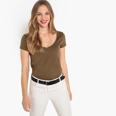 b8e9434b491 T-shirt col V