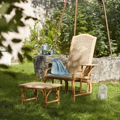 Chaise longue, transat de jardin Chaise longue, transat de jardin LA REDOUTE INTERIEURS