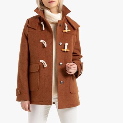 Halflange duffelcoat met kap, volop winter Halflange duffelcoat met kap, volop winter LA REDOUTE COLLECTIONS