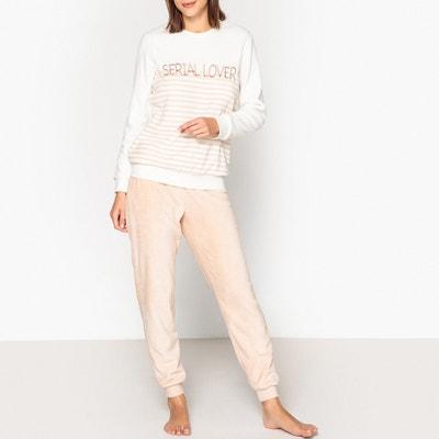 03d68708adb Serial Lover Slogan Warm Pyjamas LA REDOUTE COLLECTIONS