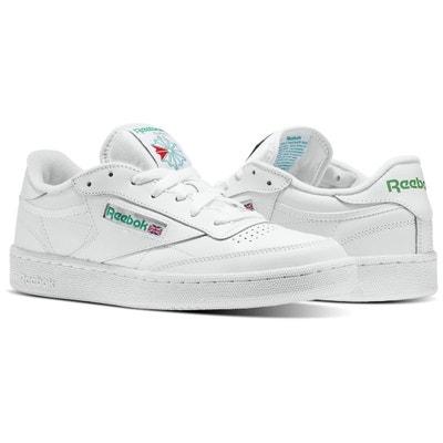 separation shoes 109e0 a2fa9 Basket cuir blanc homme  La Redoute