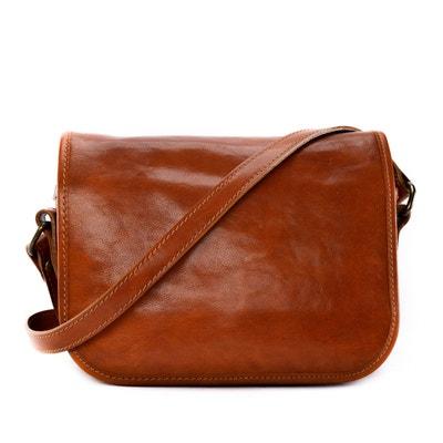 9ea20d4d37 Sac /Sacoche bandoulière en cuir lisse Marie Stuart OH MY BAG