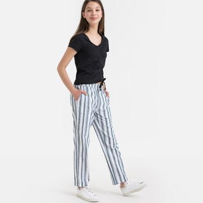 4d7c3e808897 Pantaloni larghi a righe 10-16 anni LA REDOUTE COLLECTIONS