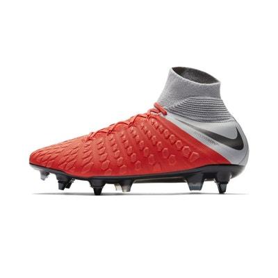 finest selection 33ca5 e0f55 Chaussures football Nike Hypervenom Phantom III Elite DF SG-PRO Anti-Clog  Rouge/