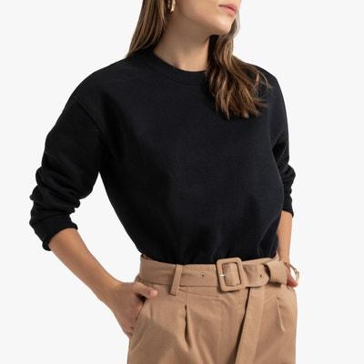 Sweater met ronde hals, wijd uitlopende snit Sweater met ronde hals, wijd uitlopende snit LA REDOUTE COLLECTIONS
