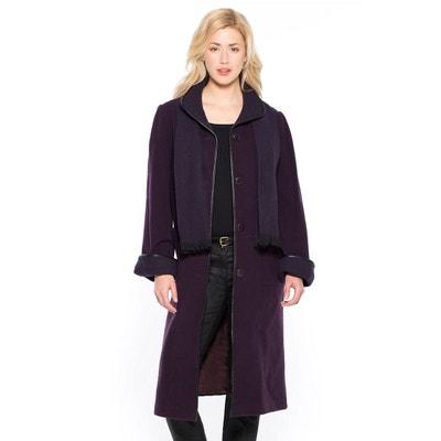Manteau femme violet mauve | La Redoute