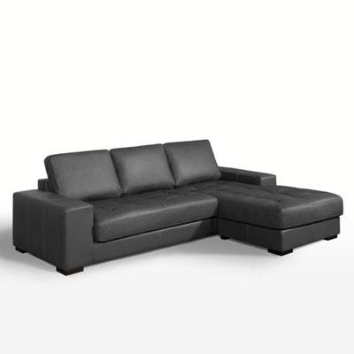 dbad7c765ec8ca Canapé d angle fixe confort supérieur, cuir, Arlon Canapé d angle fixe. LA  REDOUTE INTERIEURS