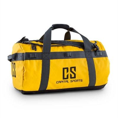 04f20de18343 Journ Sac de sport 60l sac à dos marin imperméable -jaune Journ Sac de sport