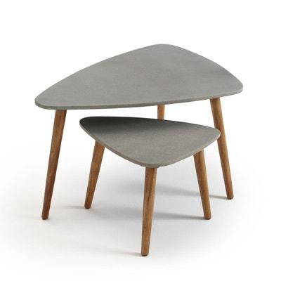 Table basse de jardin en bois | La Redoute