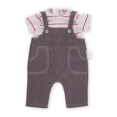 543304a978e3 Vêtement pour poupée Corolle 30 cm   Marinière et salopette Vêtement pour  poupée Corolle 30 cm