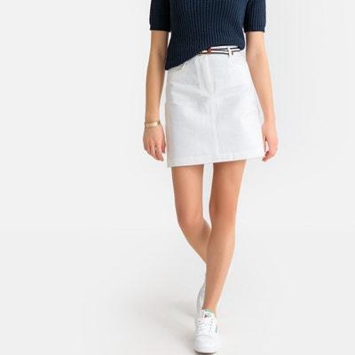 9e44e3020c Falda recta con corte 5 bolsillos Falda recta con corte 5 bolsillos LA  REDOUTE COLLECTIONS