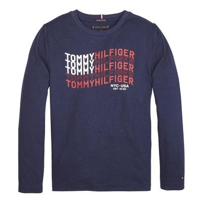 4b9431d15fc96d T-shirt lange mouwen in biokatoen 12- 16 jaar T-shirt lange mouwen. (0). TOMMY  HILFIGER