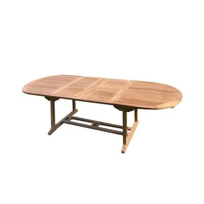 Grande table de jardin 12 personnes   La Redoute