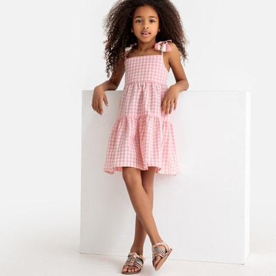 6bb3c48b97 Checked Strappy Dress