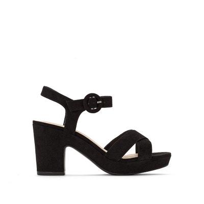 33b3a1bdd633e Block Heel Sandals LA REDOUTE COLLECTIONS