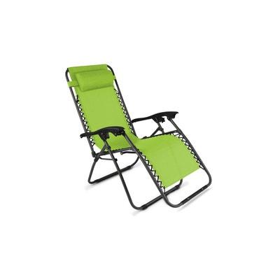 Chaise longue, transat en solde | La Redoute