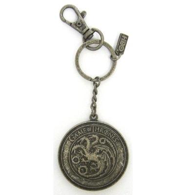 Le Trône de Fer porte-clés métal Targaryen Shield Le Trône de Fer porte- d6242ee00a1