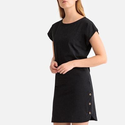 96430980e54 Robe noir droite femme