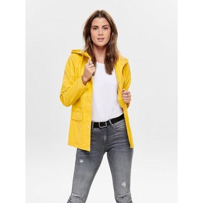 Veste tailleur jaune femme