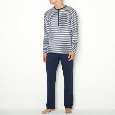 ddb557fd30742 Pyjama jersey coton Pyjama jersey coton LA REDOUTE COLLECTIONS