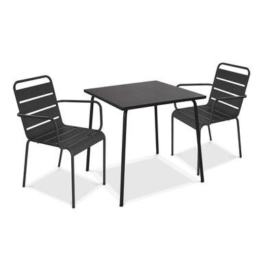 Ensemble Table Chaise De Jardin Oviala
