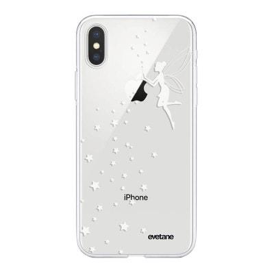 coque iphone xs max fee clochette