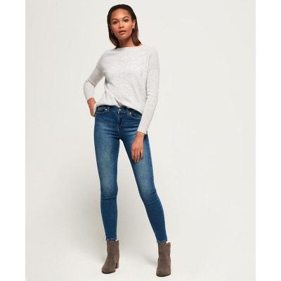 66c9ba7e790f Jean skinny taille normale Super Vintage SUPERDRY