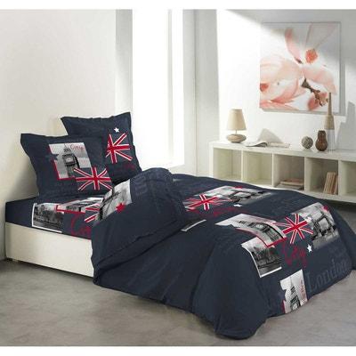 parure de lit london la redoute. Black Bedroom Furniture Sets. Home Design Ideas