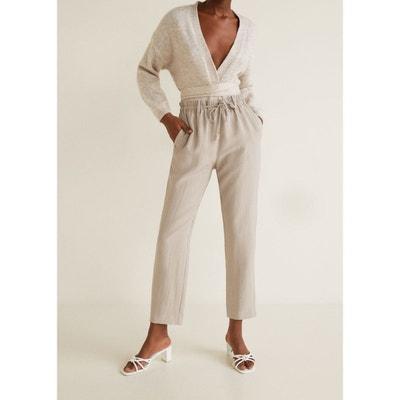 Pantalon taille élastique Pantalon taille élastique MANGO 7d42b5432c9