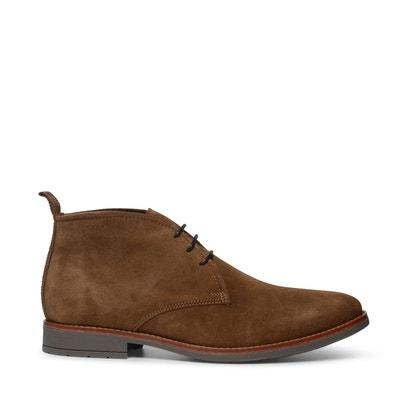7ab7c73fb694 Chaussures à lacets en daim montantes Chaussures à lacets en daim montantes  SACHA