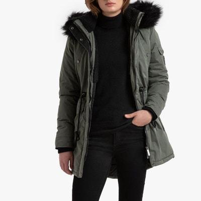 Superdry veste femme hiver, Superdry ava boyfriend shirt