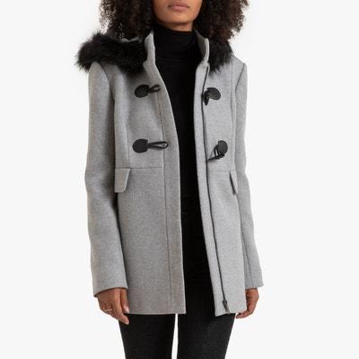 Halflange duffelcoat met kap Halflange duffelcoat met kap LA REDOUTE COLLECTIONS