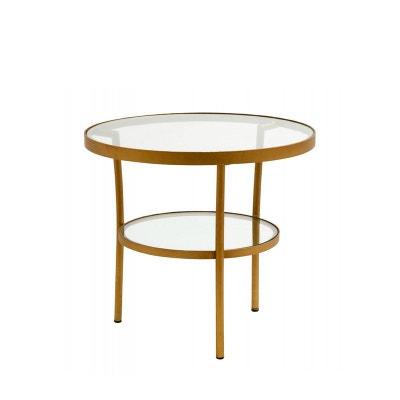 Table Basse Ronde En Verre La Redoute