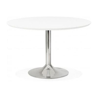 Table ronde blanche en solde | La Redoute