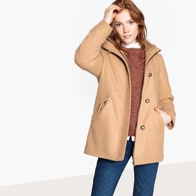Manteau long femme avec capuche