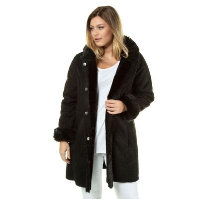 Manteau femme en daim