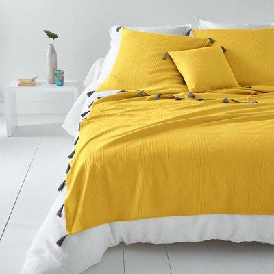Couvre lit jaune | La Redoute