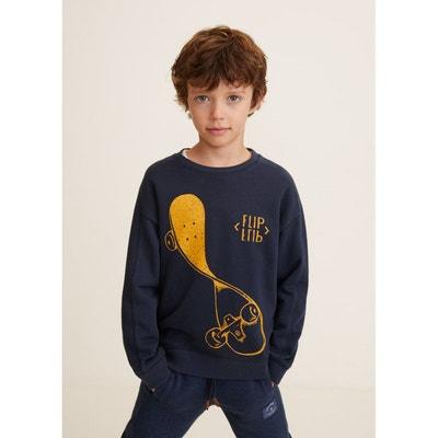 Sweat-shirt coton imprimé Sweat-shirt coton imprimé MANGO KIDS 4f251f0b047