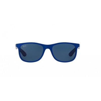 1d24713f73d Lunettes de soleil pour enfant RAY BAN Bleu RJ 9062S 701780 48 16 Lunettes  de