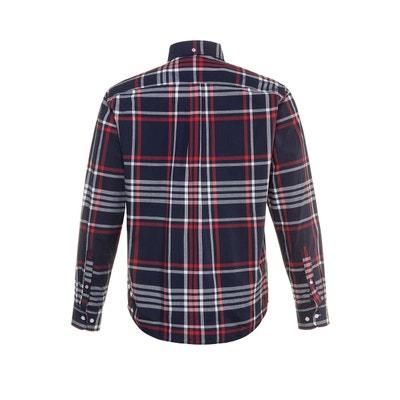 Chemise droite à carreaux, manches longues Chemise droite à carreaux,  manches longues JP1880 2f8780cd9901