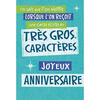 Carte Anniversaire Musicale La Redoute