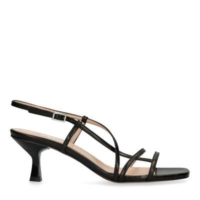 Chaussures noir a petit talon | La Redoute