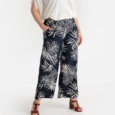 Pantalon taille élastiquée femme - Castaluna  622d9445b23