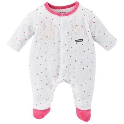4a9cff8d7b16b Pyjama velours rasé bébé fille Pyjama velours rasé bébé fille SUCRE D ORGE