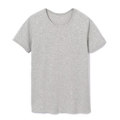 b35359bbe Camiseta lisa con cuello redondo y manga corta LA REDOUTE COLLECTIONS