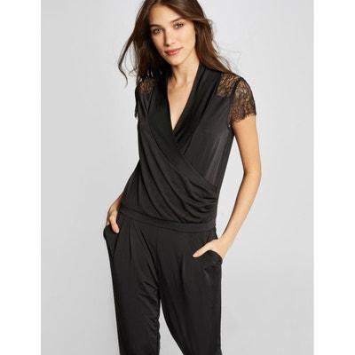 a011585f29add0 Combinaison pantalon effet drapé MORGAN