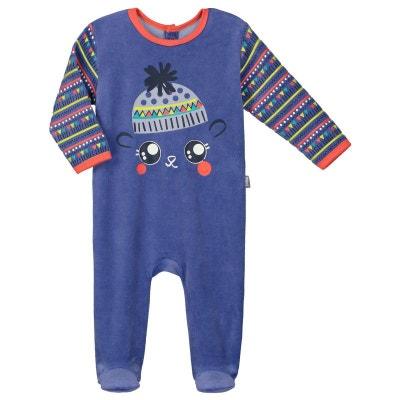 830c11e86bb1d Pyjama bébé velours Funny Pets Pyjama bébé velours Funny Pets PETIT BEGUIN