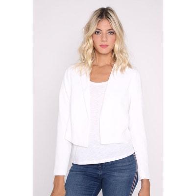 Veste de costume blanc femme