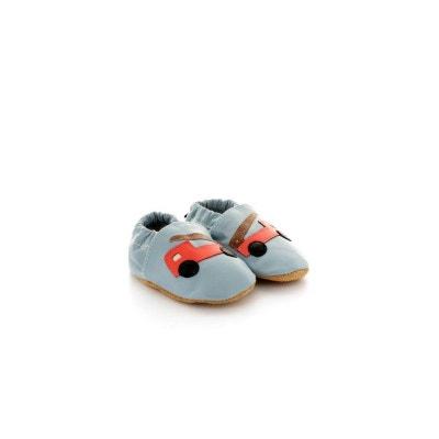 Paire De Chaussons Sandales Coton Tricote Pour Bebe Naissance Creme Baby Shoes